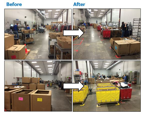 moline goodwill 5s event reduces backroom space and movement lean